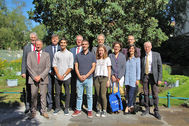Besuch argentinischer Botschafter am 2.7.18; hinten v.l.: Prof. Heider, S.E. Botschafter Malaroda, VP Prof. Kramp, Dir. Zimmermann, Prof. Heimann; vorne v.l.: Prof. Schindler, Ojeda Ton, Colombres, Vidal, Dra. Kroyer, Arizaga, Dr. Borchert; Foto: Lübke