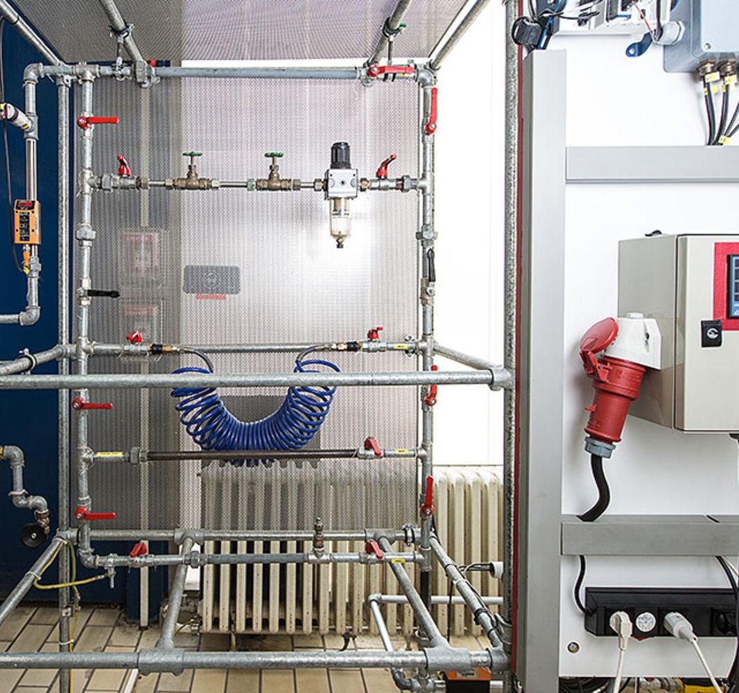Rohrleitungssystem/ Verteilnetz