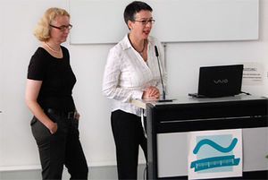 Prof. Ursula Drees und Prof. Dr. phil. Annette Pattloch