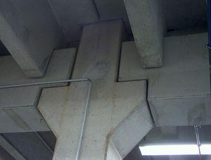 Stahlbeton-Fertigteilbau Auflagerung UZ / TT-Platte